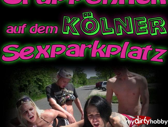 Gruppenfick auf dem Kölner Sexparkplatz